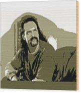 Office Space Lawrence Diedrich Bader Movie Quote Poster Series 006 Wood Print
