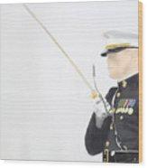 Officer Wood Print