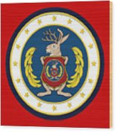 Official Odd Squad Seal Wood Print