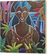Ofrendas De Mi Tierra II Wood Print