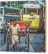 Oh Calcutta Wood Print