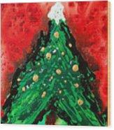 Oh Christmas Tree Wood Print