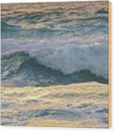 Oh  Majestic Ocean Wood Print by E Luiza Picciano