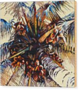 Oh Nuts Wood Print by Mike Hill
