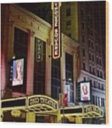 Ohio And State Theaters Wood Print