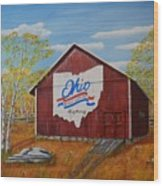 Ohio Bicentennial Barns 22 Wood Print