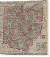 Ohio Wood Print