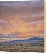 Ohio Pass Colorado Sunset Dsc07562 Wood Print