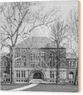Ohio State University Hayes Hall Wood Print