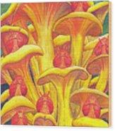 Ohmm Wood Print