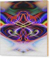 Ohmmmmm Meditation Wood Print