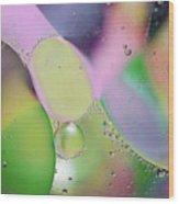 Oil 3 Wood Print