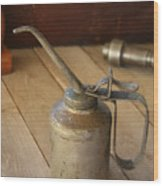 Oil Can Wood Print