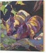 Oil Wood Print