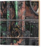 Oil Well Wood Print