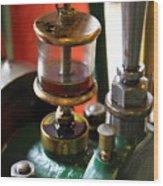 Oiler Closeup Wood Print