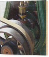Oiler Wood Print