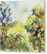 Ojai Oranges Wood Print