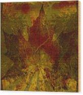 Ok Fall Wood Print