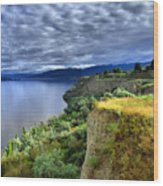 Okanagan Lake On A Thursday Wood Print