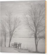 Okanagan Mist Wood Print