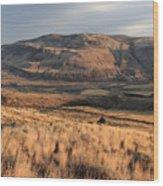 Okanagan Valley Sunset Glow Wood Print