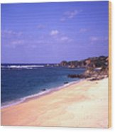 Okinawa Beach 22 Wood Print
