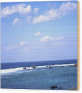 Okinawa Beach 7 Wood Print