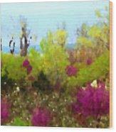 Oklahoma Spring Colors Wood Print