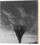 Oklahoma Tornado, C1898 - To License For Professional Use Visit Granger.com Wood Print