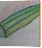 Okra Wood Print