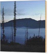 Olallie Fogrise Wood Print