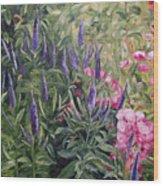 Olbrich Garden Series - Garden 2 Wood Print