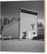 Old 10 Saloon Buffalo North Dakota Wood Print