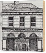 Old Abbey Theatre 1 Dublin Wood Print