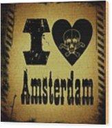 Old Amsterdam Wood Print