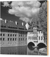 Old Architecture  Nuremberg Wood Print