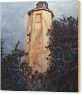 Old Baldy Wood Print