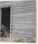 Old Barn 2 Wood Print
