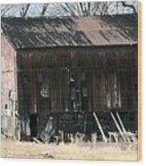 Old Barn-6 Wood Print