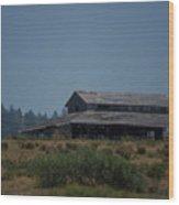 Old Barn Wood Print