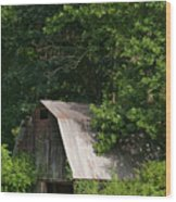 Old Barn. Wood Print