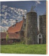 Old Barn Near Sedalia Mo Dsc01900 Wood Print