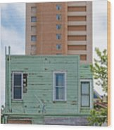 Old Before New High Rise Wood Print