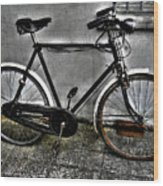 Old Bicycle Wood Print