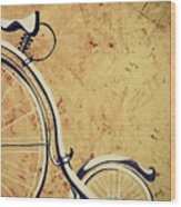 Old Bicycle-part Two Wood Print