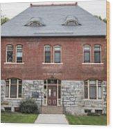 Old Botany Building Penn State  Wood Print