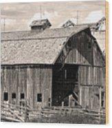 Old Boulder County Colorado Barn Wood Print