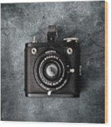 Old Box Camera Wood Print