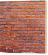 Old Brick Wall Wood Print